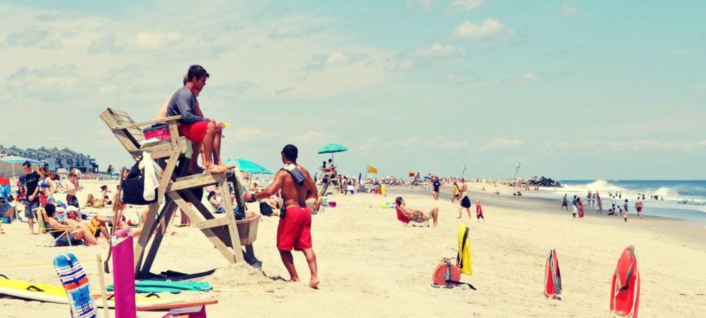 Jenkinson's Beach and Lifeguards