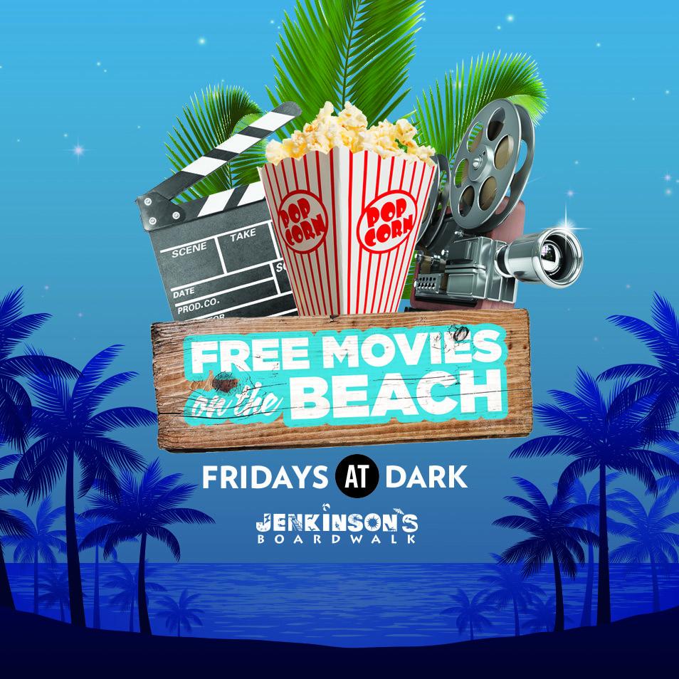 Movies On The Beach Boardwalk