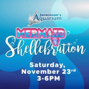 mermaid shellebration at jenkinson's aquarium